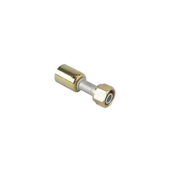 Straight Crimp-On A/C O-Ring Fitting, -10 AN
