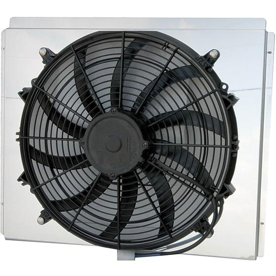 AFCO 80409FAN 2170 CFM Fan/Shroud Assembly for GM Radiators