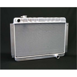 Dewitts 1139002M 1966-67 Chevelle SB/BB Direct Fit Radiator, Manual