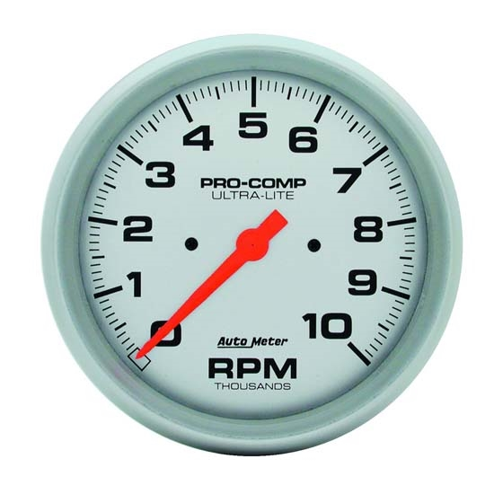 Auto Meter 4498 Ultra-Lite Air-Core In-Dash Tach, 10k RPM, 5 Inch