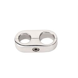 Billet Specialties 68020 Alum Hose Separator Clamp, .440 x .540 Inch