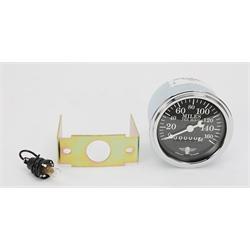 Stewart Warner 82664 Wings Mechanical Speedometer, Black