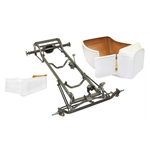 Deluxe 1923 T-Bucket Frame Kit w/ Deluxe Body and Bed, Unchanneled Floor