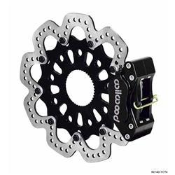Wilwood 140-11774 GP320 Sprint Right Rear Brake Kit, SA Rotor