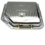 TH350 Transmission Pan-Chrome Steel