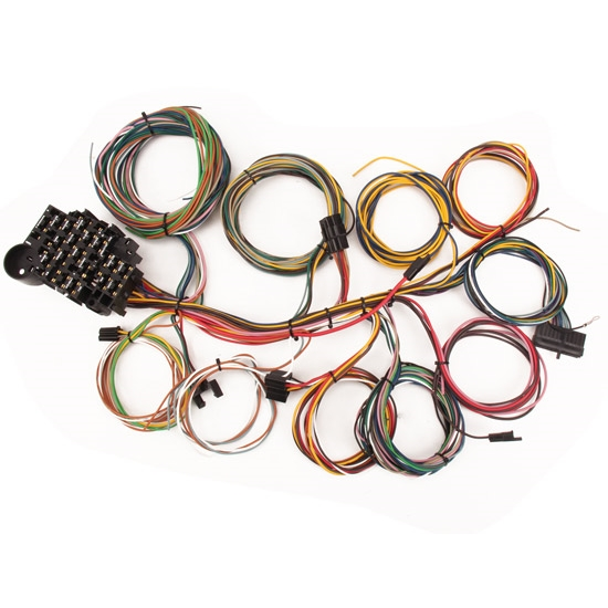 new speedway 22 circuit gm chevy wiring harness compact