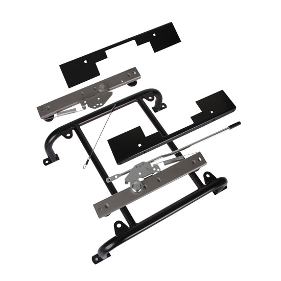 universal seat mounting frame slider and mounts