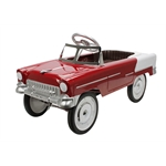 1955 Red & Beige Chevy Pedal Car