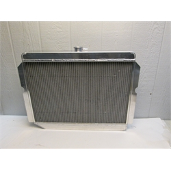 Garage Sale - AFCO Direct Fit 1960-78 Mopar A, B, E-Body Radiator, 26X22 Inch, Pass Side Inlet