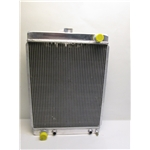 Garage Sale - Universal Aluminum Radiator, 27 Inch Tall, Driver Side Outlet