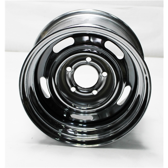 garage sale speedway gm style 15 inch rally wheel 5 on 5 inch bolt pattern ebay. Black Bedroom Furniture Sets. Home Design Ideas