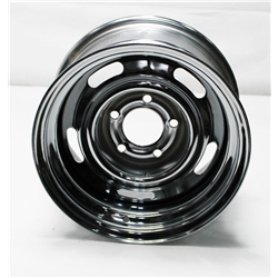 Garage Sale - Speedway GM Style 15 Inch Rally Wheel, 5 on 5 Inch Bolt Pattern
