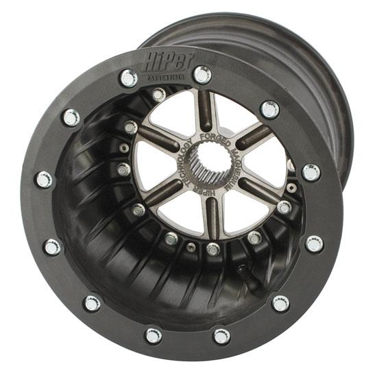 Garage Sale - HiPer Technology Beadlock Left Rear with Center, 10 x 8, 3 Inch Offset