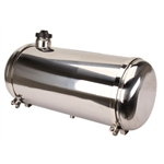 EMPI 3896 Polished Stainless Steel Fuel Tank, 10 x 24 Inch, End Fill, 7.5 Gallon