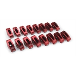 Edelbrock 77770 Red Roller Rocker Arm, Small Block Chevy