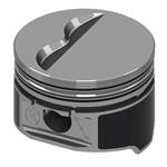 KB Claimer Chevy 377/400 Hypereutectic Pistons, Flat Top, 5.7/5.565 Rod