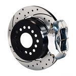 Wilwood 140-7141-DP FDL Pro-Series Rear Parking Brake Kit, 12.19 Inch, 2.81 Offset
