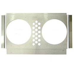 Electric Fan Shroud, 25-28 In Tank-to-Tank x 14-17 In, 10 In Fan Holes