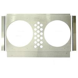Electric Fan Shroud, 25-28 In Tank-to-Tank x 14-17 In, 10 In Fan Holes