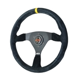 GT Performance 54-4116 Euro Pro-Touring Switchback Suede Steering Wheel