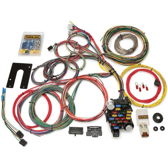 painless wiring 10201 gm 28 circuit wiring harness free shipping speedway motors