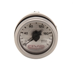 AVS GAU-200AVS1 Silver Face Single Needle Gauge, 0-200 Air psi