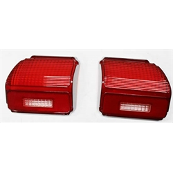 Golden Star TP03-691 Tail Light Lenses for 1969 Chevelle, Pair