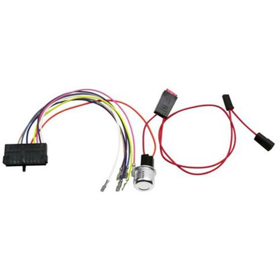 shop american autowire shipping speedway motors american autowire 35775 chevy steering column wiring harness adapter