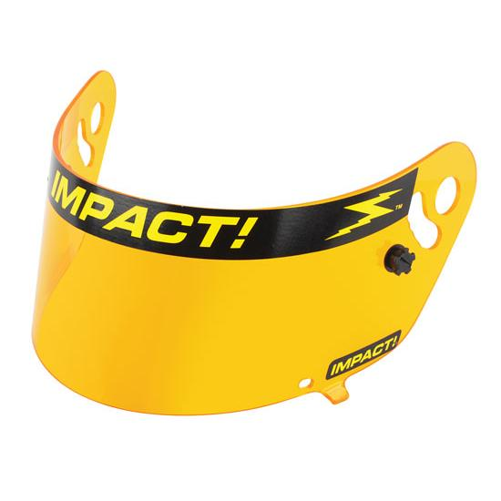 Impact Racing 12100904 Amber Shield-Charger/Vapor/Carbon Fiber Draft