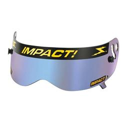 Impact Racing 13100906 Shield for Champ Helmets, Iridium
