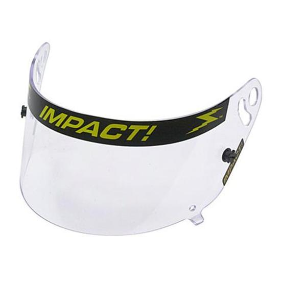 Impact Racing 19300901 Clear Shield, Super Sport & Wizard Helmets