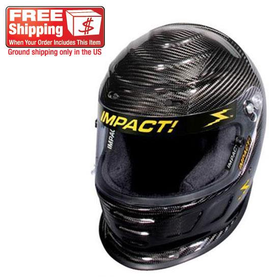 Garage Sale - Impact Racing SA05 Carbon Fiber Draft Helmet