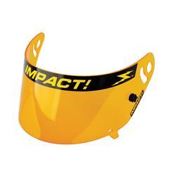 Impact Racing 19300904 Amber Shield, Super Sport & Wizard Helmets