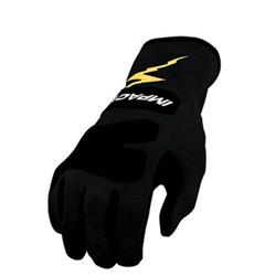 Garage Sale - Impact Racing Black JG4 Junior Racing Gloves-Black