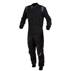 Alpinestars SP Black 54 Large 2-Layer Racing Suit, SFI 3.2