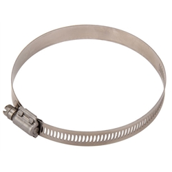 Airaid 9408 Hose Clamp, Stainless Steel, 4 - 4-7/8 Inch, Each