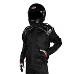 Bell Pro Drive II Single Layer SFI 3.2A/1 Racing Suit Jacket, Black XL