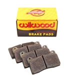 Wilwood 150-12248K BP40 Brake Pads for Narrow Billet Dynalite Caliper