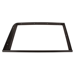 1932 Ford 5-Window Door Garnish Trim Molding, RH Side, Black