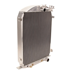 Griffin 7-70084 Deluxe Alum Radiator for 30-31 Ford Chassis w/SB Chevy
