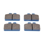 Hawk HB237L.625 NDL/Dynalite Bridge Bolt Brake Pads, Blue MT4