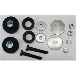 D&R Classic K00021-2 Replacement Radiator Support Bushing/Hardware Kit