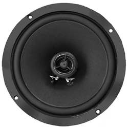 RetroSound R-652N Ultra-thin Stereo Speakers, 6-1/2 Inch