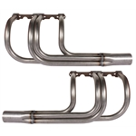 Small Block Chevy Classic T-Bucket Headers, Plain