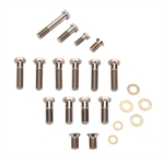 TI64 383 Swindell Series Sprint Racing Front Axle Titanium Bolt Kit