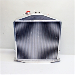 Garage Sale - 6 Inch Chopped 1932 Lo-Boy Aluminum Radiator