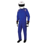 Garage Sale - Bell Pro Drive II Racing Suit-One Piece-Single Layer, Blue, Size XXL