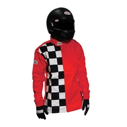 Garage Sale - Finishline Two-Layer SFI-5 Racing Jacket, Red, Size XL