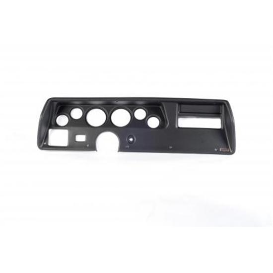 Dash Panels for Aftermarket Gauges - '70-'72 Chevelle SS