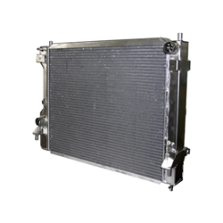 Afco 81283Z 2010-Up Mustang Aluminum Radiator, Polished